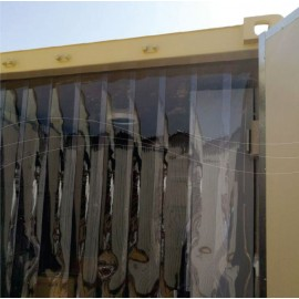 Curtains Of Refrigerators And Warehouses
