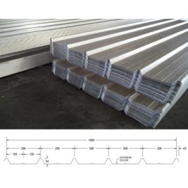 Aluminum - Alloy Corrugated Panel