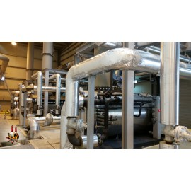 All supplies of steam, hot water, diesel and laundry equipment